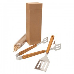 Bamboo Eco BBQ Set