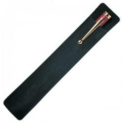 Black Velvet Pouch Pen