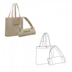 Jute Foldable Bag