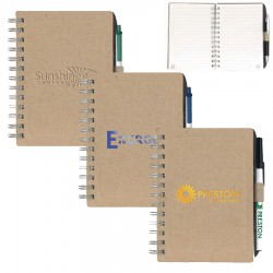 BIC Chipboard NoteBook with Recycled Fiber