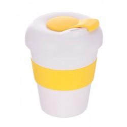 White Yellow 320ml Profile Karma Kup