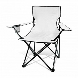 White Memphis Folding Picnic Chair