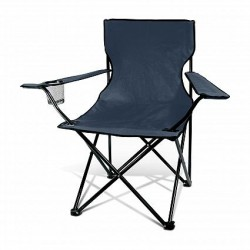 Navy Memphis Folding Picnic Chair