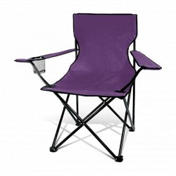 Purple Memphis Folding Picnic Chair