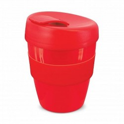Red 350ml Deluxe Reusable Coffee Cups