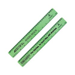 Echo Rule Recycled Plastic Ruler 30cm