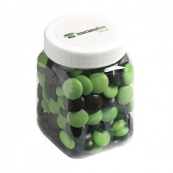 Choc Beans in Plastic Jar 180G (Corporate Colours)