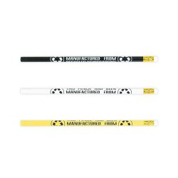 Rubber Tipped Newspaper Unsharpened Lead Pencil