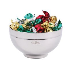 Toffees in Stainless Steel Bowl