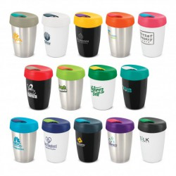 Silver Teal 350ml Double Wall Express Cup Elite