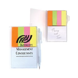 Pocket Buddy Notepad and Noteflags With Pen