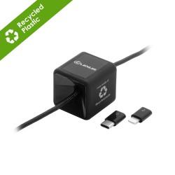 Zinc Eco Desktop Universal Charging & Sync Cable