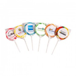 Medium Candy Lollipop (Mixed Colours)