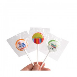 Small Branded Lollipop
