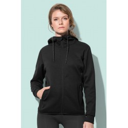 Womens Recycled Scuba Jacket