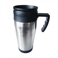 Stainless Steel Insulated Travel Mug (plastic inner)