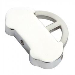 Metal Key Ring Bubble Car