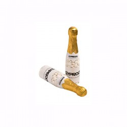 Champagne Bottle Filled with Mints 220G X 2 Stickers (Chewy Mints)