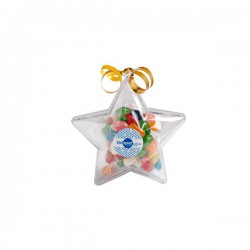 Acrylic Stars Filled with Jelly Beans 50G
