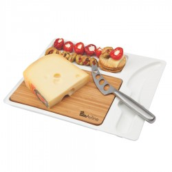 Snack-Rack Cheese Set