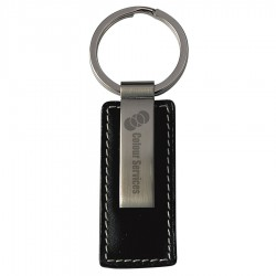 Lisbon Leather Keyring