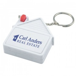 House Tape Measure Keyring