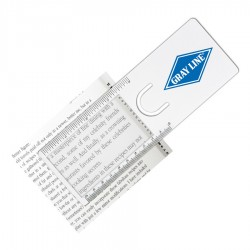 The Easy Reader Magnifier Ruler