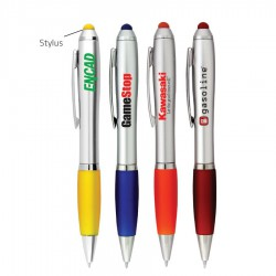 The Silver Grenada Stylus Pen