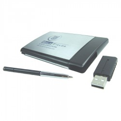 Executive USB Card Holder