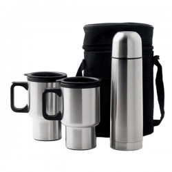 Car Mug Vacuum Flask Set